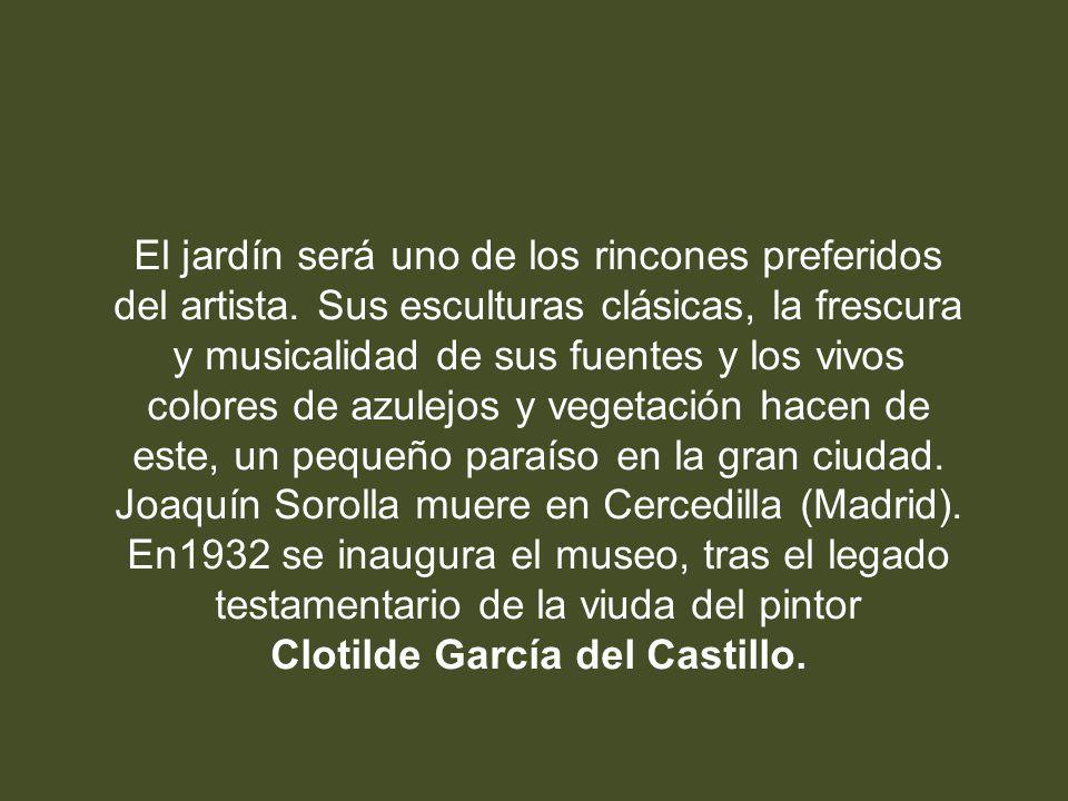 Clotilde García del Castillo.