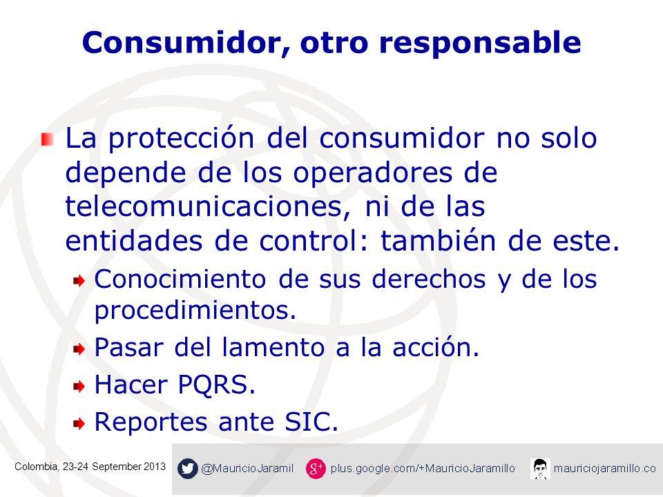 Consumidor, otro responsable
