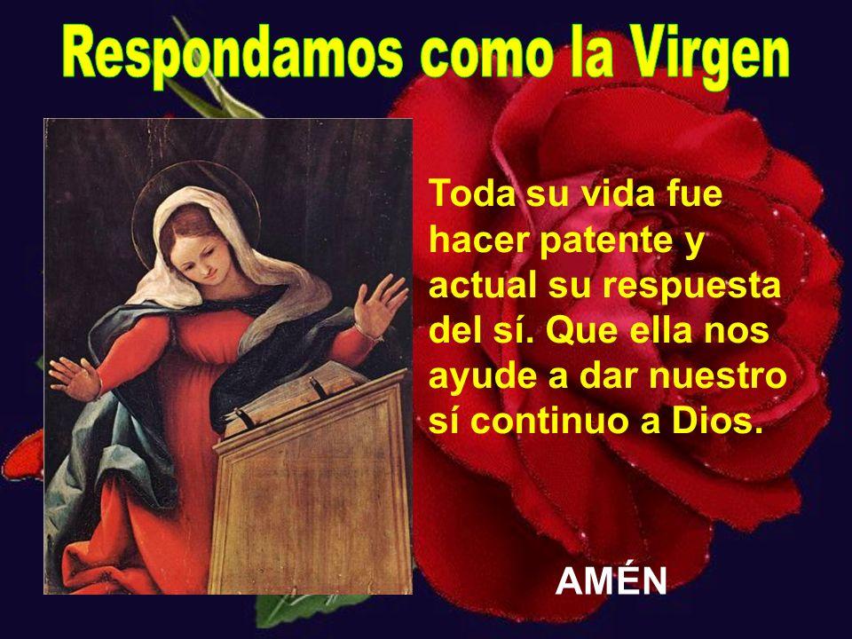 Respondamos como la Virgen
