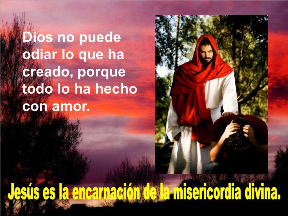 Jesús es la encarnación de la misericordia divina.