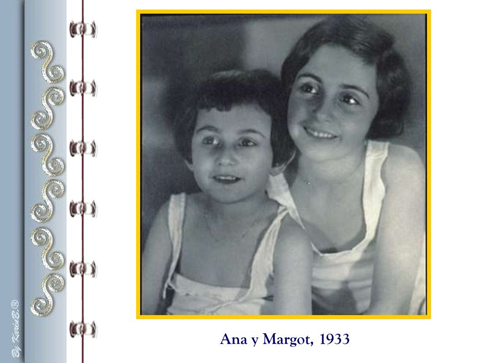 Ana y Margot, 1933