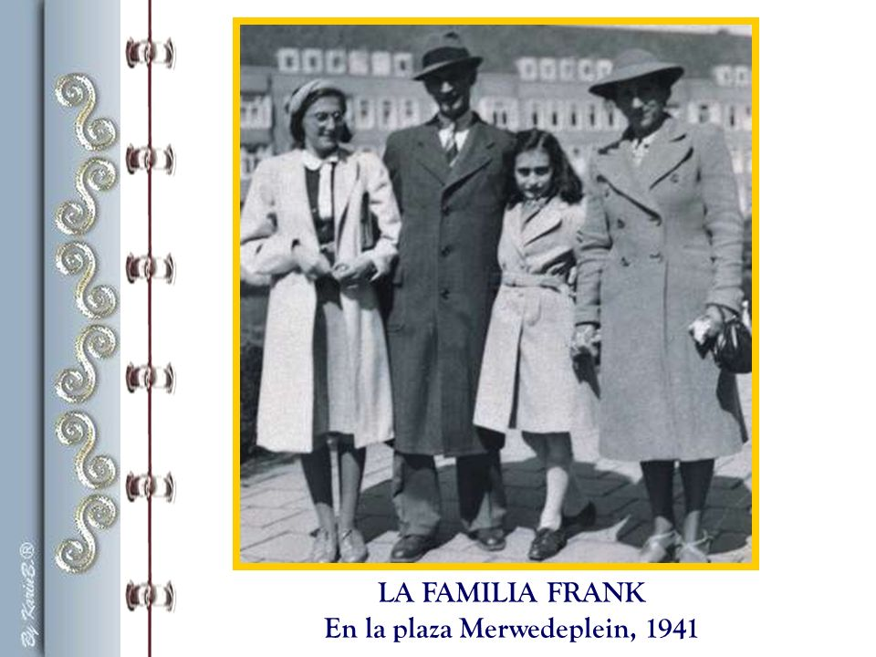 En la plaza Merwedeplein, 1941