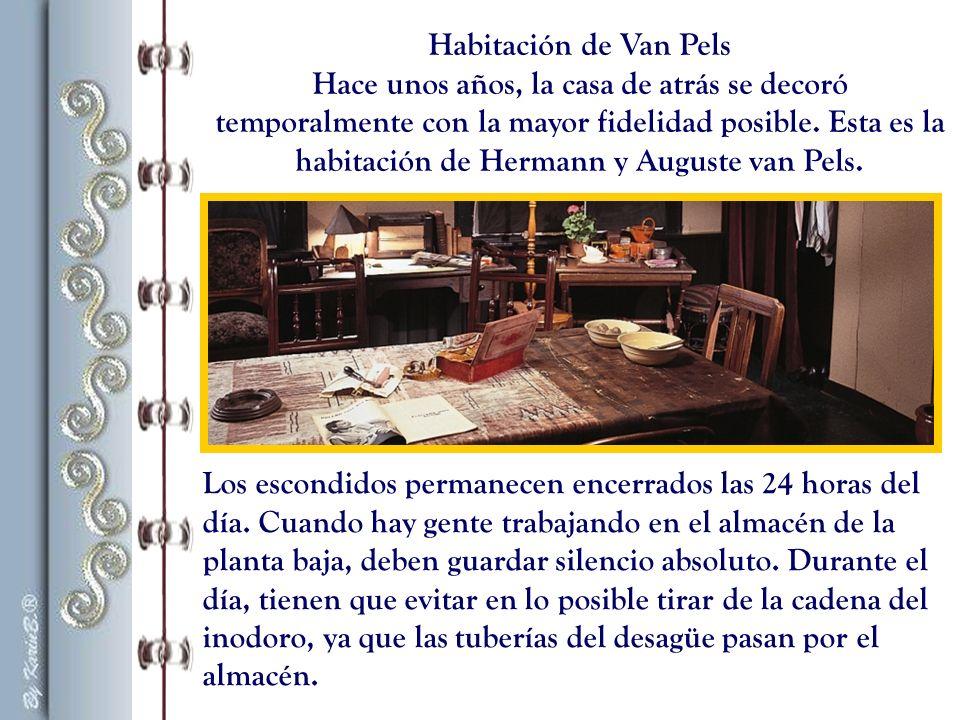 Habitación de Van Pels