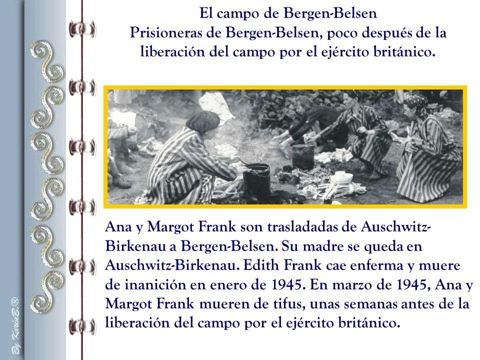 El campo de Bergen-Belsen
