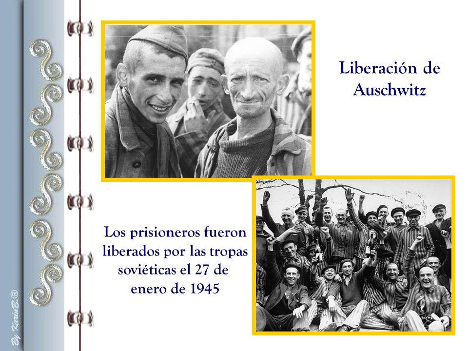 Los prisioneros fueron liberados por las tropas