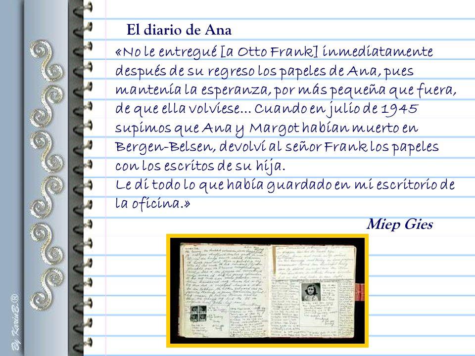 El diario de Ana