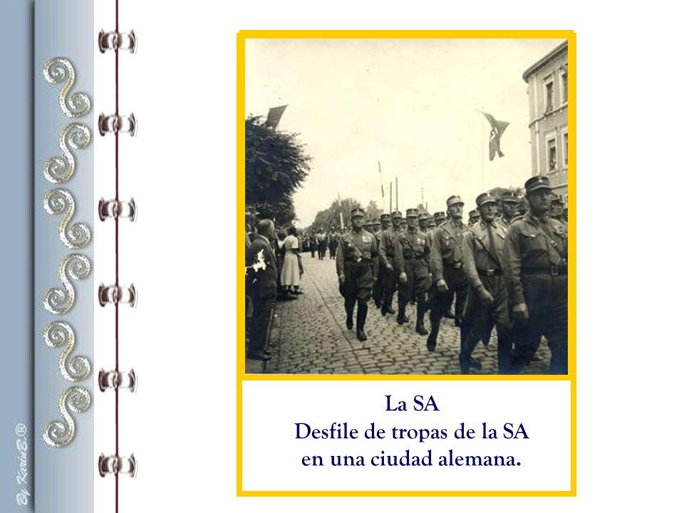 Desfile de tropas de la SA