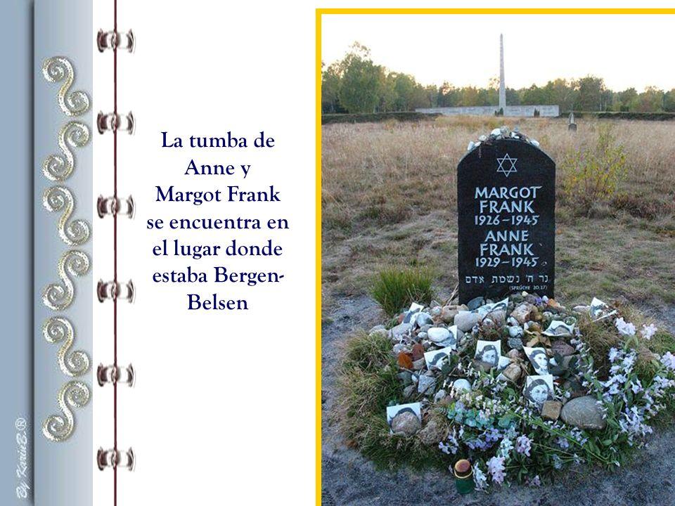 se encuentra en el lugar donde estaba Bergen-Belsen