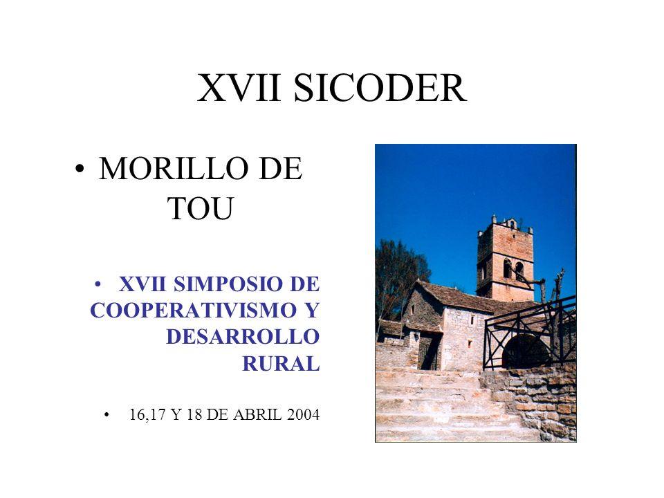 XVII SICODER MORILLO DE TOU