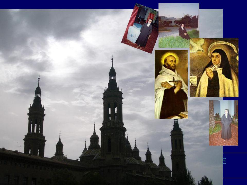 DESDE ZARAGOZA El Monasterio que asumió la fundación fue el Carnelo de Santa Teresa, de Zaragoza,