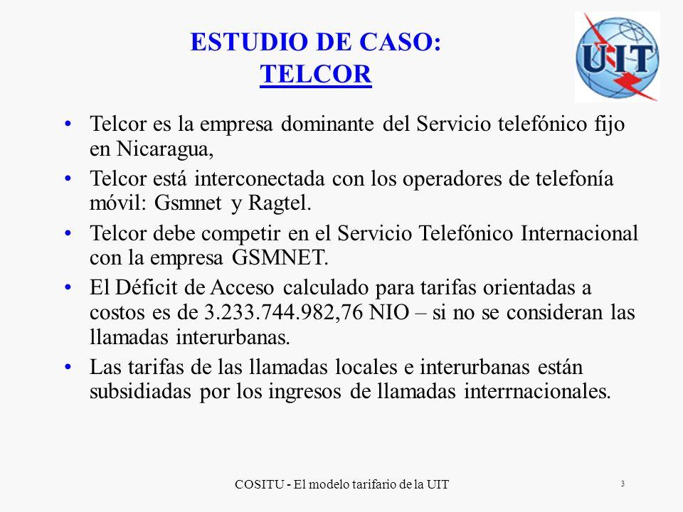 ESTUDIO DE CASO: TELCOR