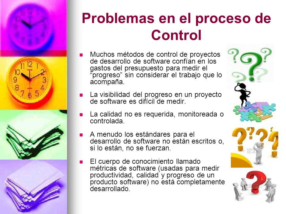 Problemas en el proceso de Control
