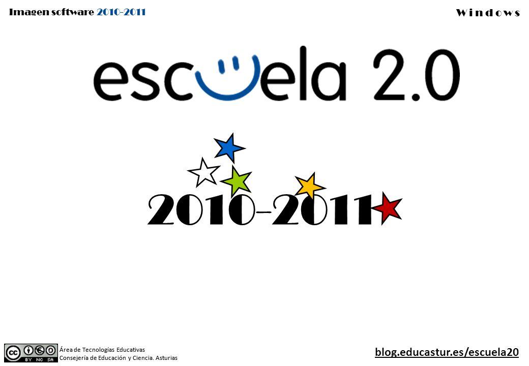 2010-2011 blog.educastur.es/escuela20 Área de Tecnologías Educativas