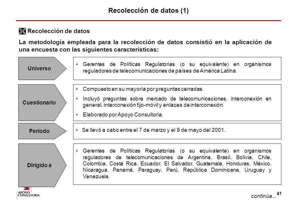 Recolección de datos (1)