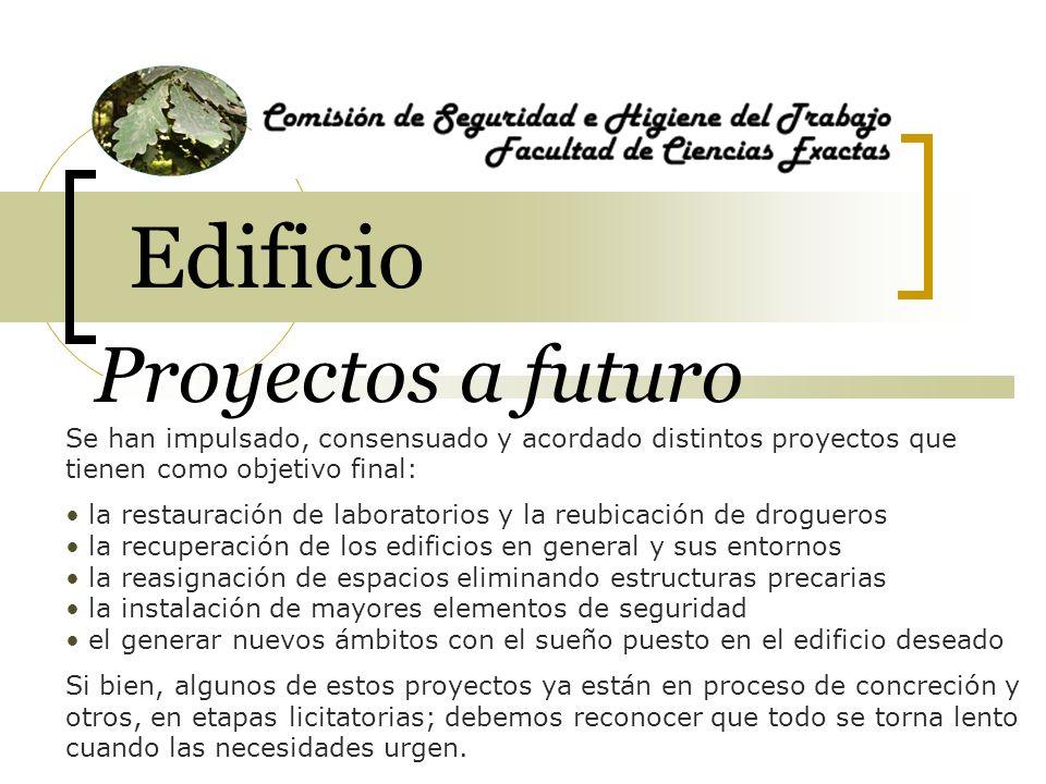 Edificio Proyectos a futuro