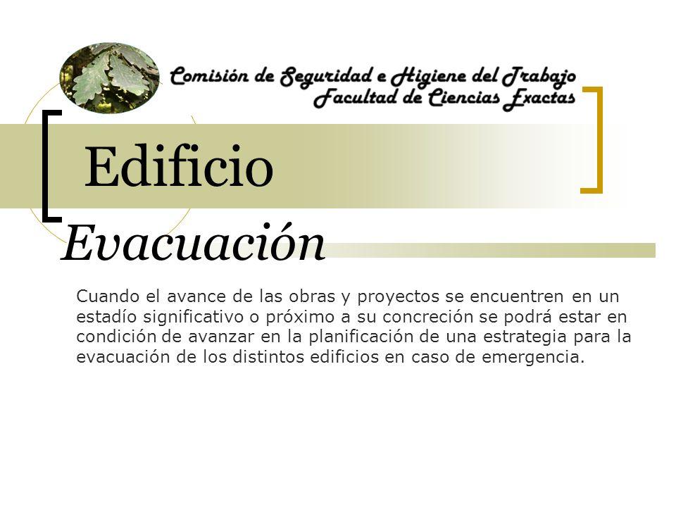 Edificio Evacuación.