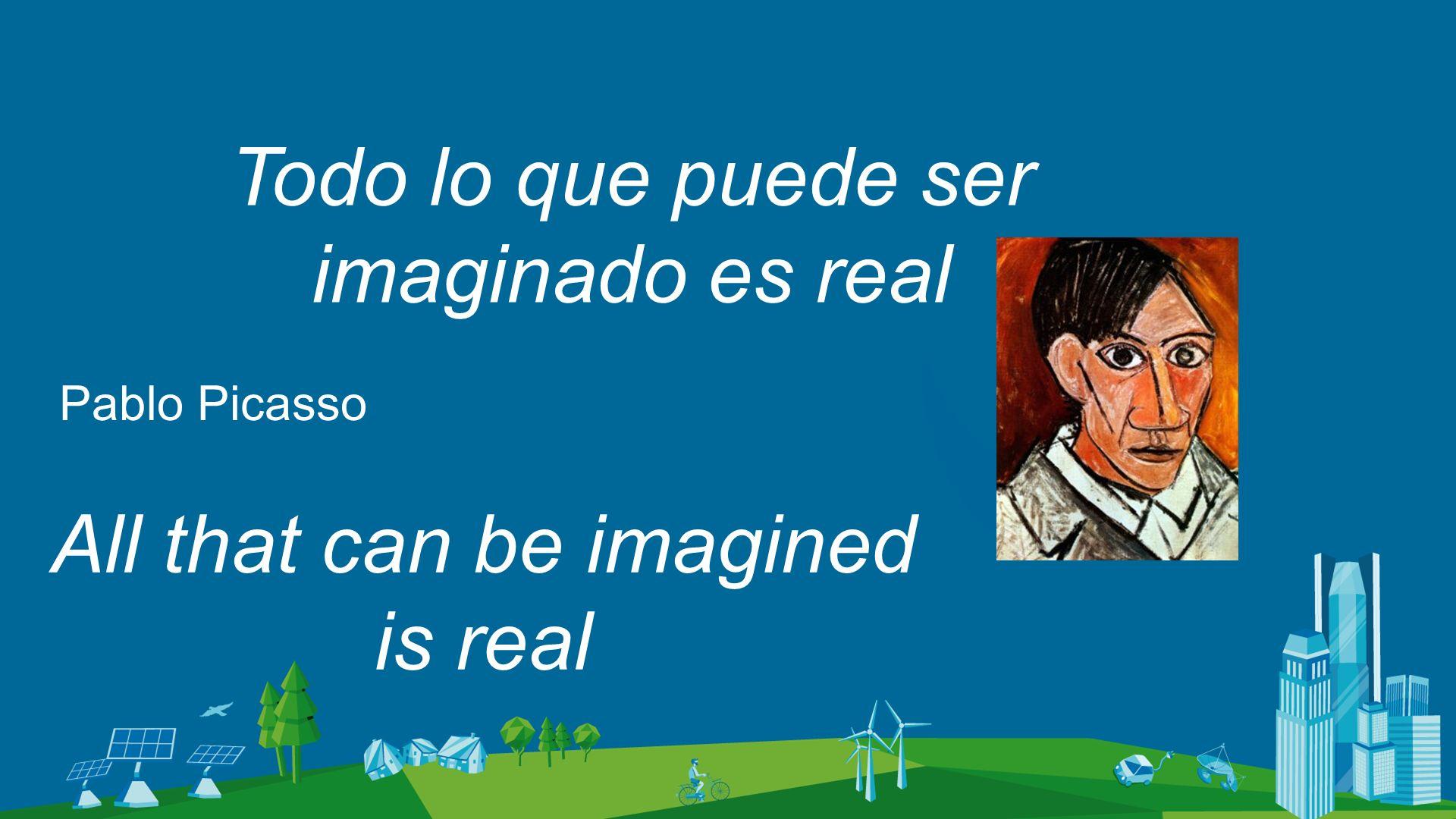 Todo lo que puede ser imaginado es real