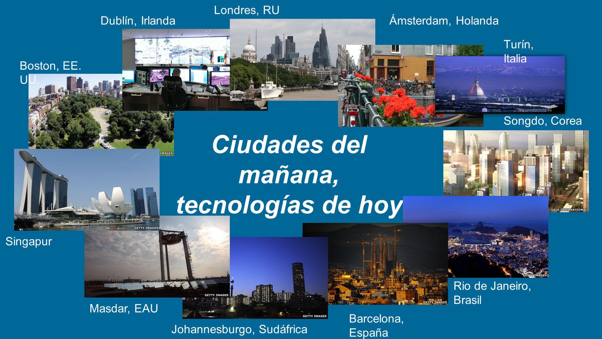 Ciudades del mañana, tecnologías de hoy