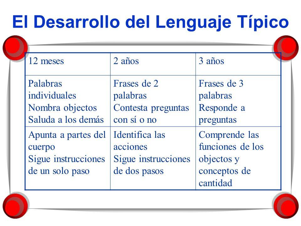 El Desarrollo del Lenguaje Típico