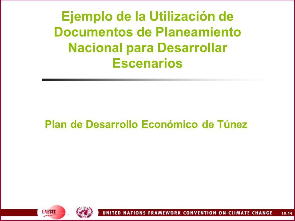 Plan de Desarrollo Económico de Túnez
