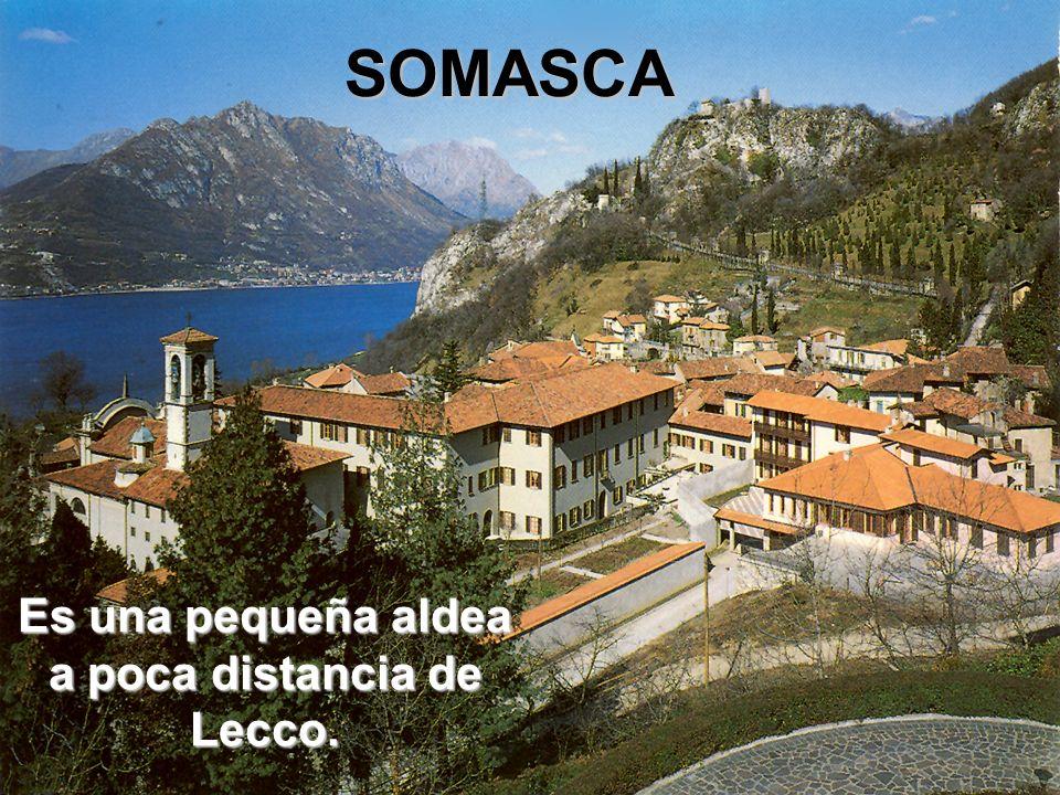 Es una pequeña aldea a poca distancia de Lecco.