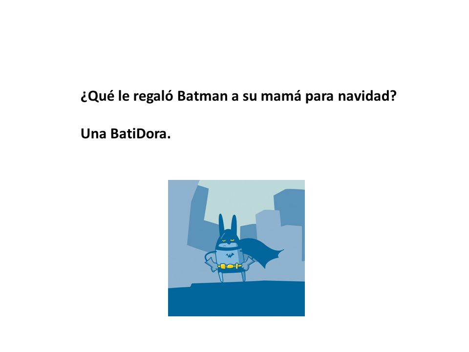 ¿Qué le regaló Batman a su mamá para navidad