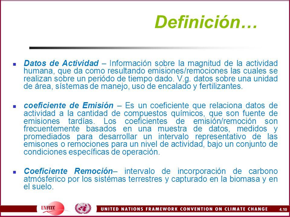 Definición…