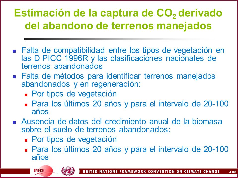 Estimación de la captura de CO2 derivado del abandono de terrenos manejados