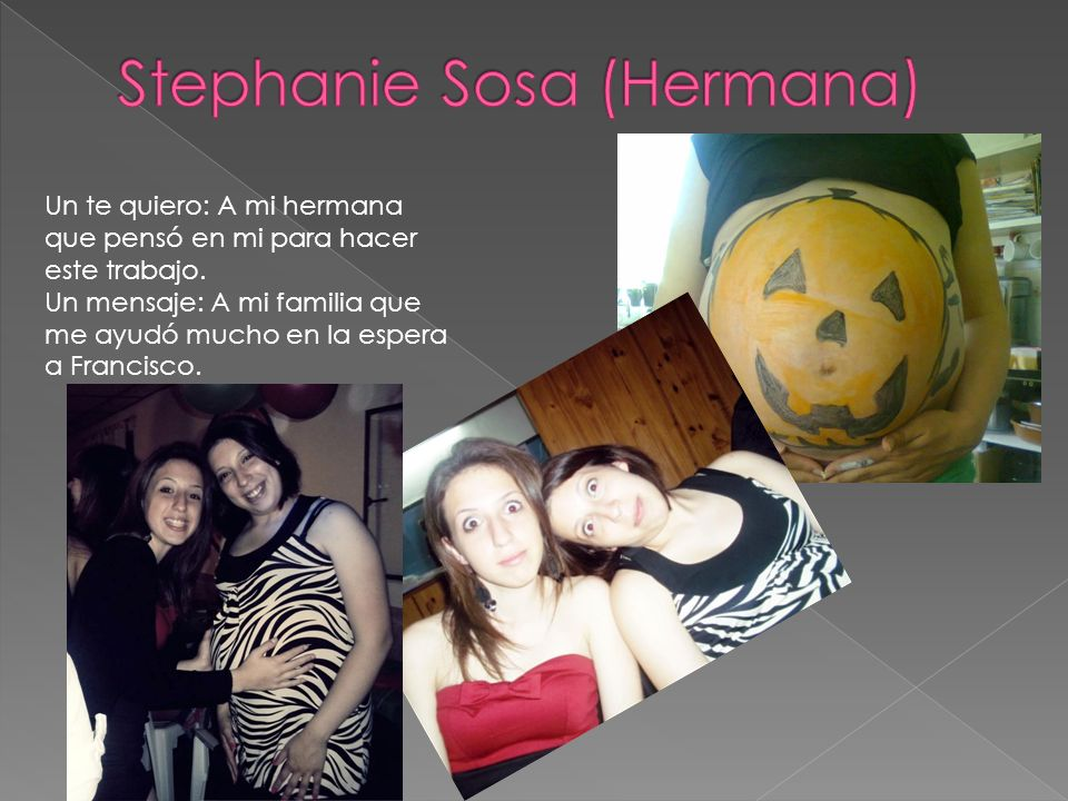 Stephanie Sosa (Hermana)