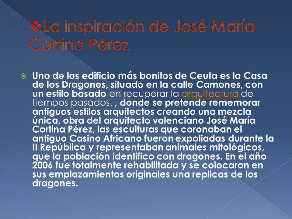 La inspiración de José María Cortina Pérez