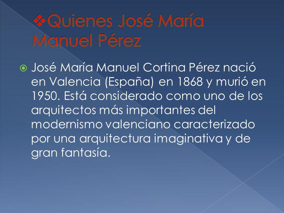 Quienes José María Manuel Pérez