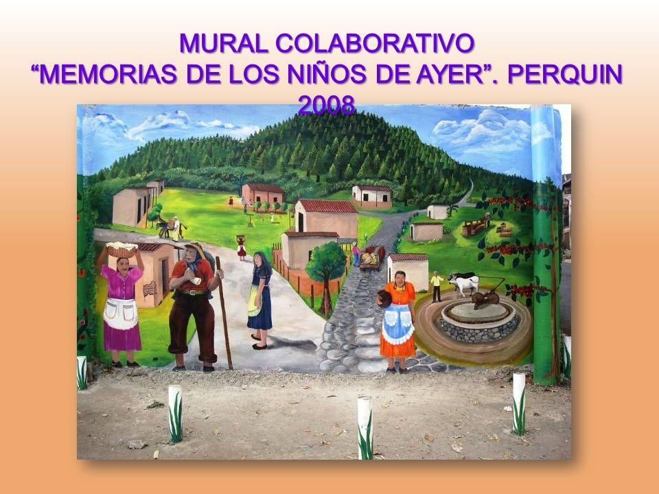 MEMORIAS DE LOS NIÑOS DE AYER . PERQUIN 2008