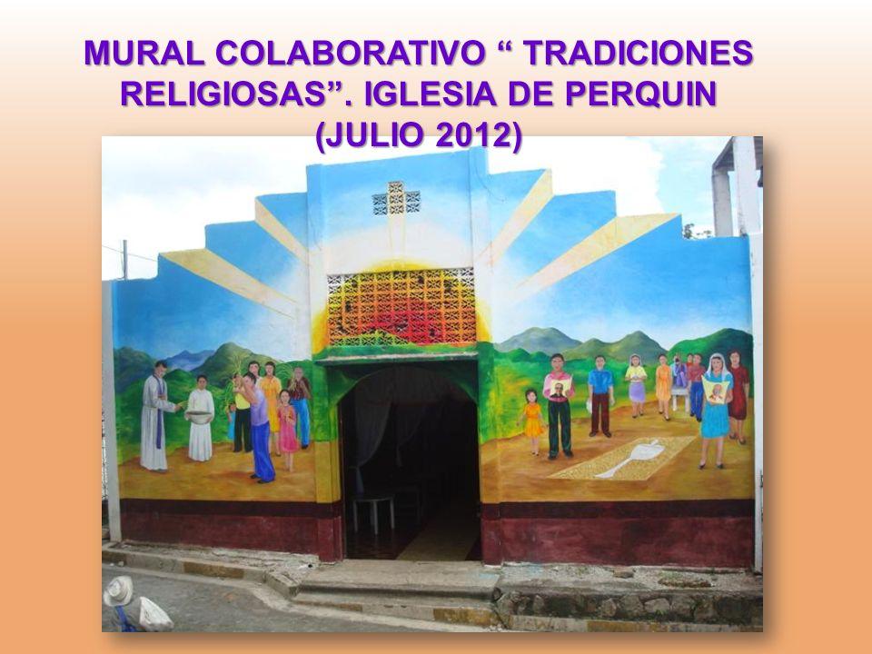 MURAL COLABORATIVO TRADICIONES RELIGIOSAS