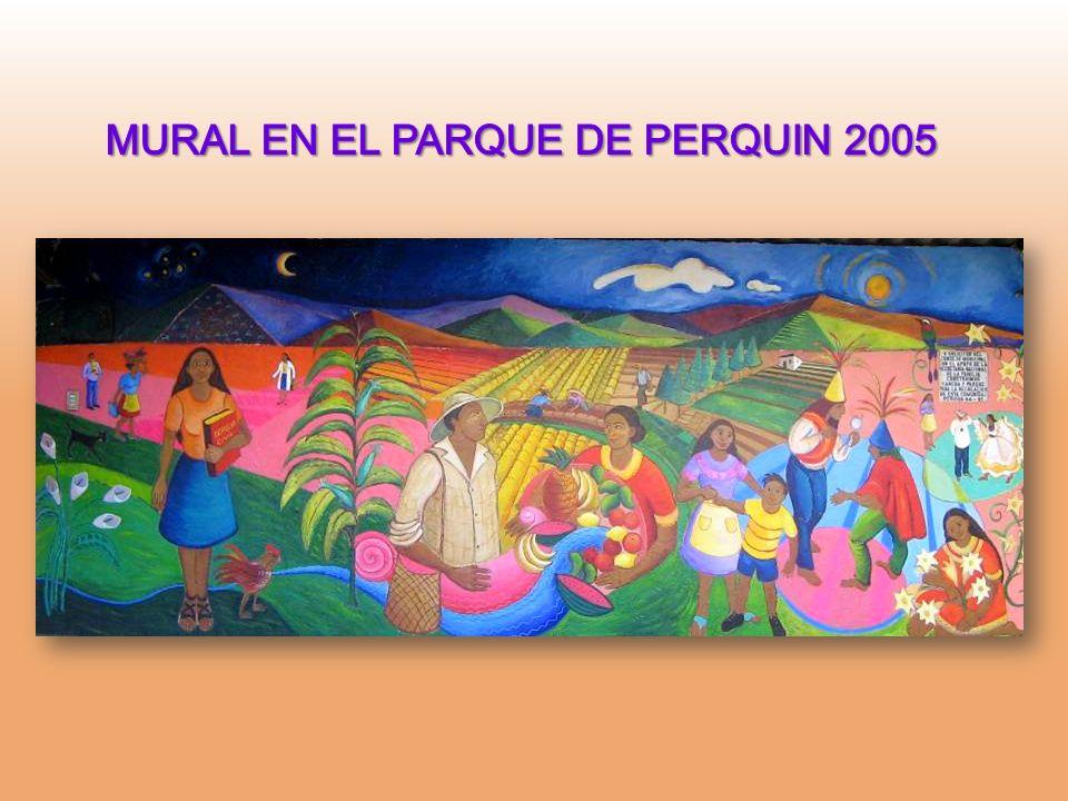MURAL EN EL PARQUE DE PERQUIN 2005