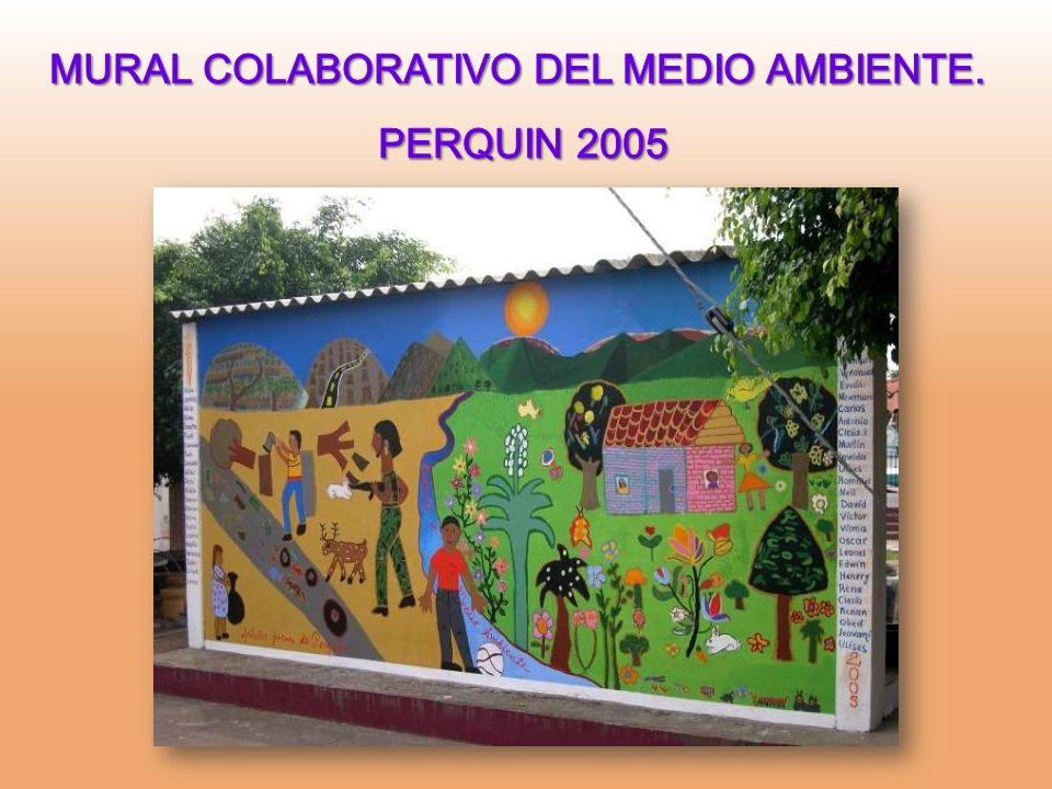 MURAL COLABORATIVO DEL MEDIO AMBIENTE.