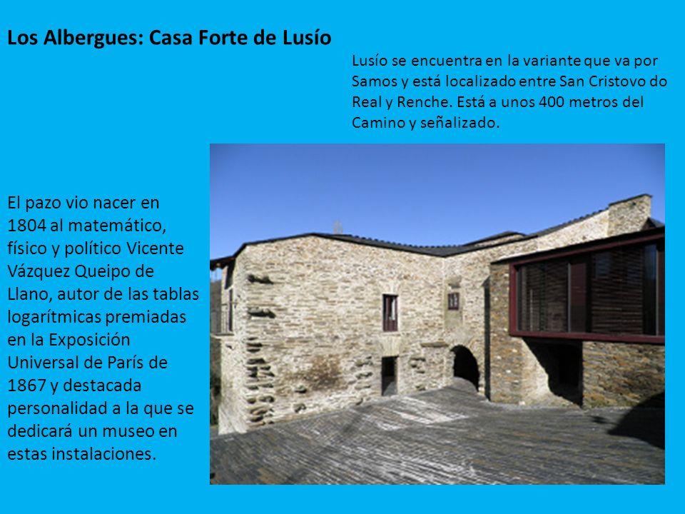 Los Albergues: Casa Forte de Lusío