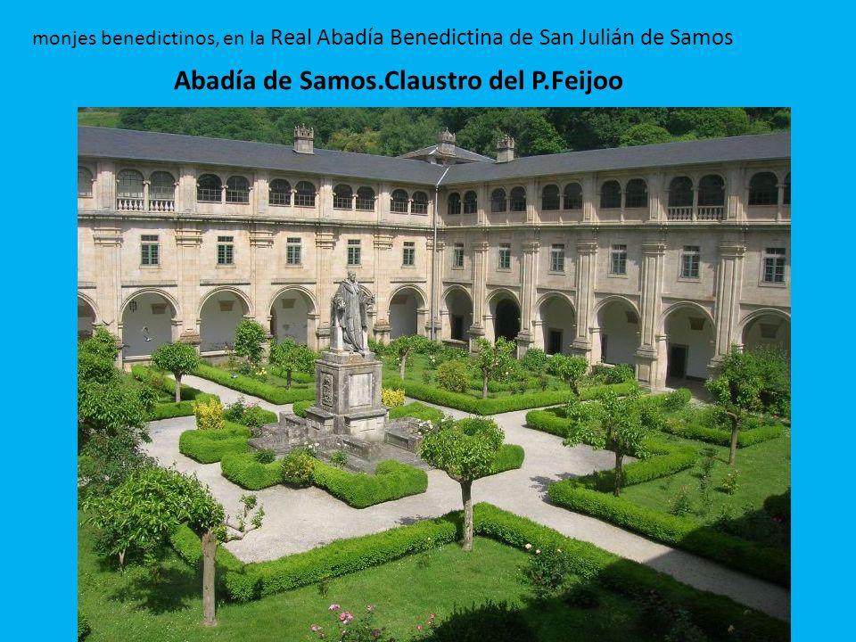 Abadía de Samos.Claustro del P.Feijoo