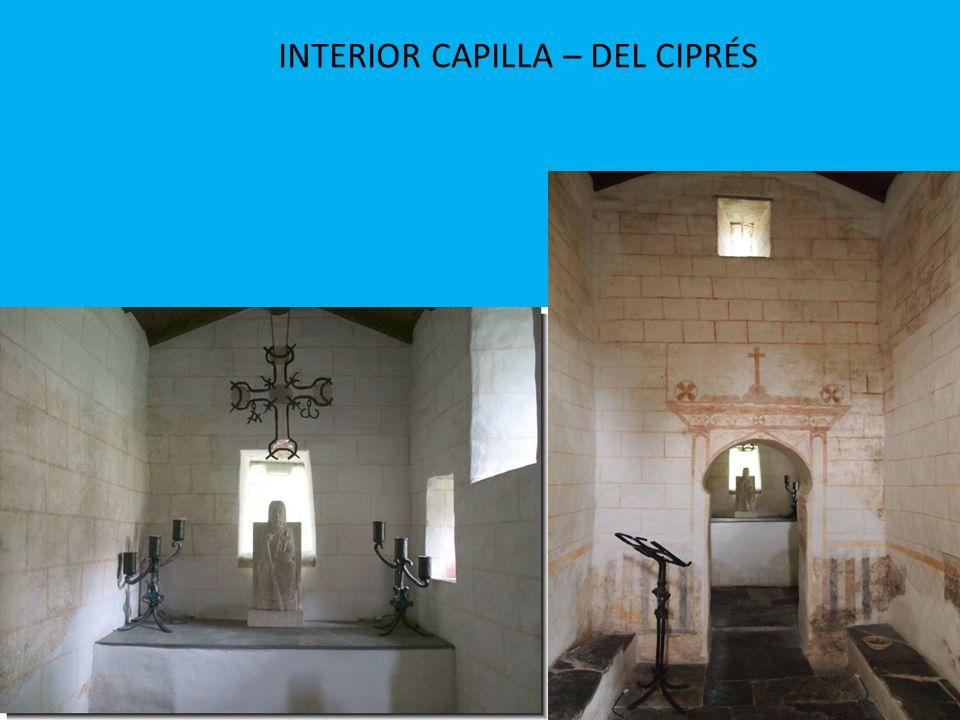 INTERIOR CAPILLA – DEL CIPRÉS