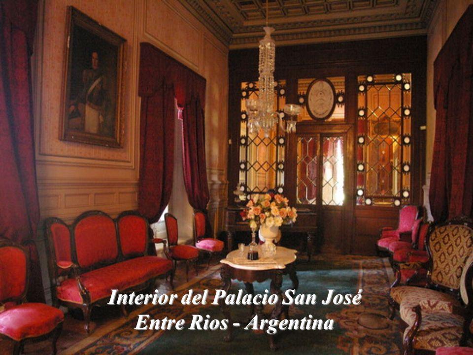 Interior del Palacio San José Entre Rios - Argentina