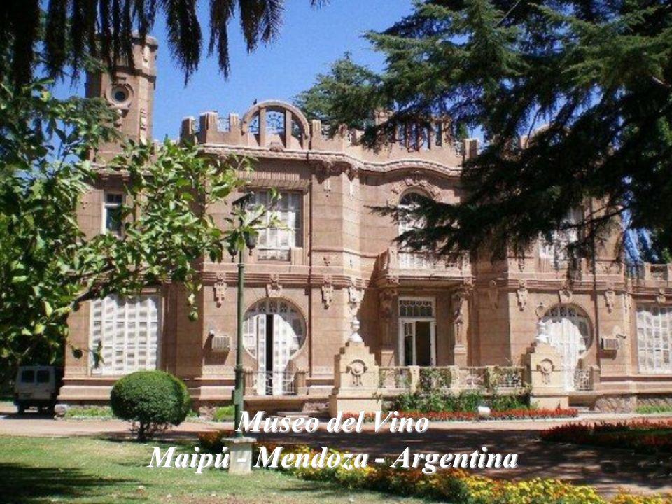 Museo del Vino Maipú - Mendoza - Argentina