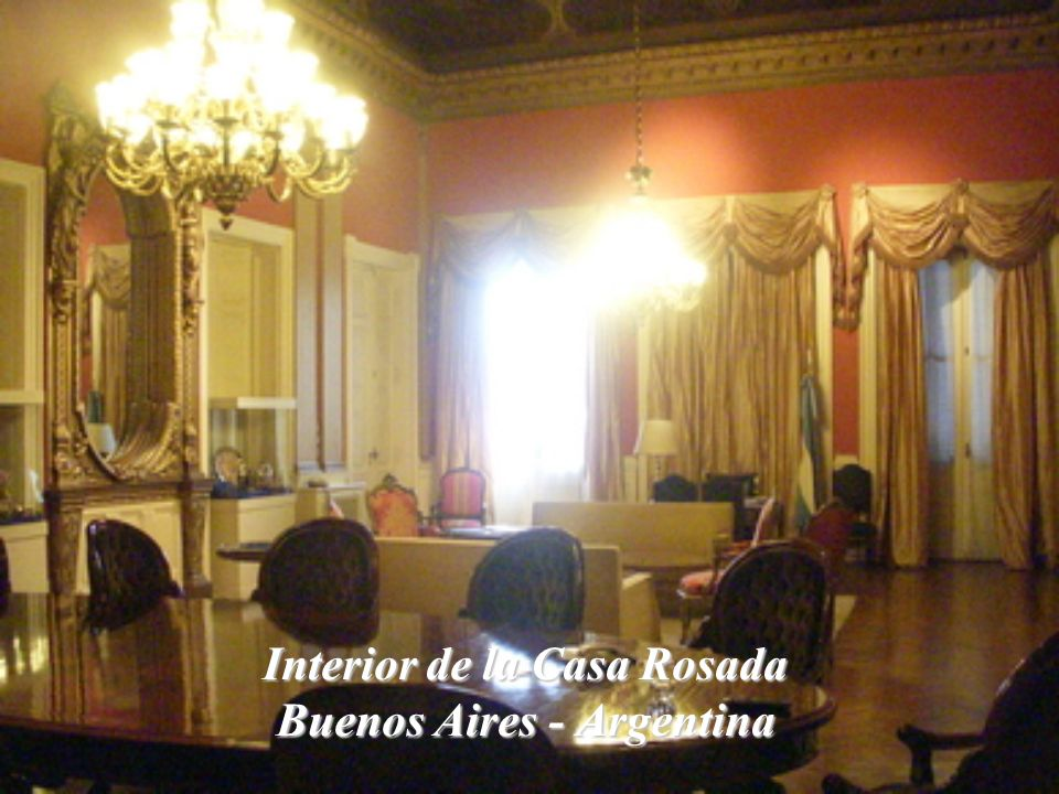 Interior de la Casa Rosada Buenos Aires - Argentina