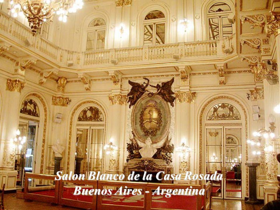 Salon Blanco de la Casa Rosada Buenos Aires - Argentina
