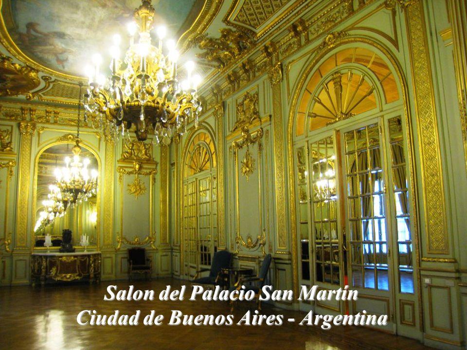 Salon del Palacio San Martín Ciudad de Buenos Aires - Argentina