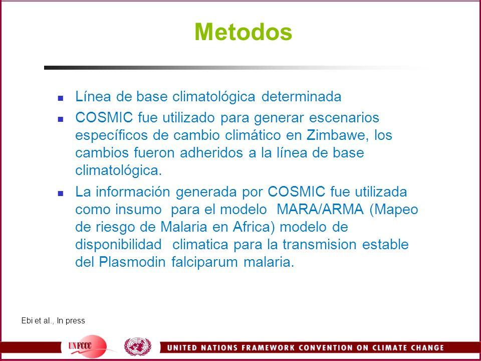 Metodos Línea de base climatológica determinada