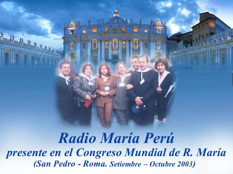 presente en el Congreso Mundial de R. María