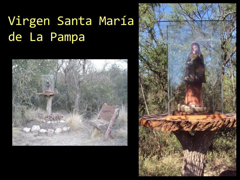 Virgen Santa María de La Pampa