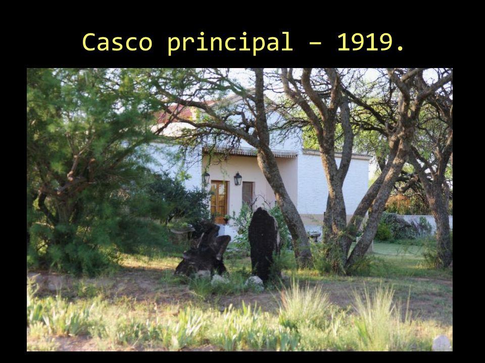 Casco principal – 1919.