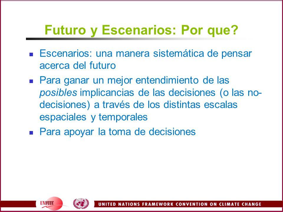 Futuro y Escenarios: Por que