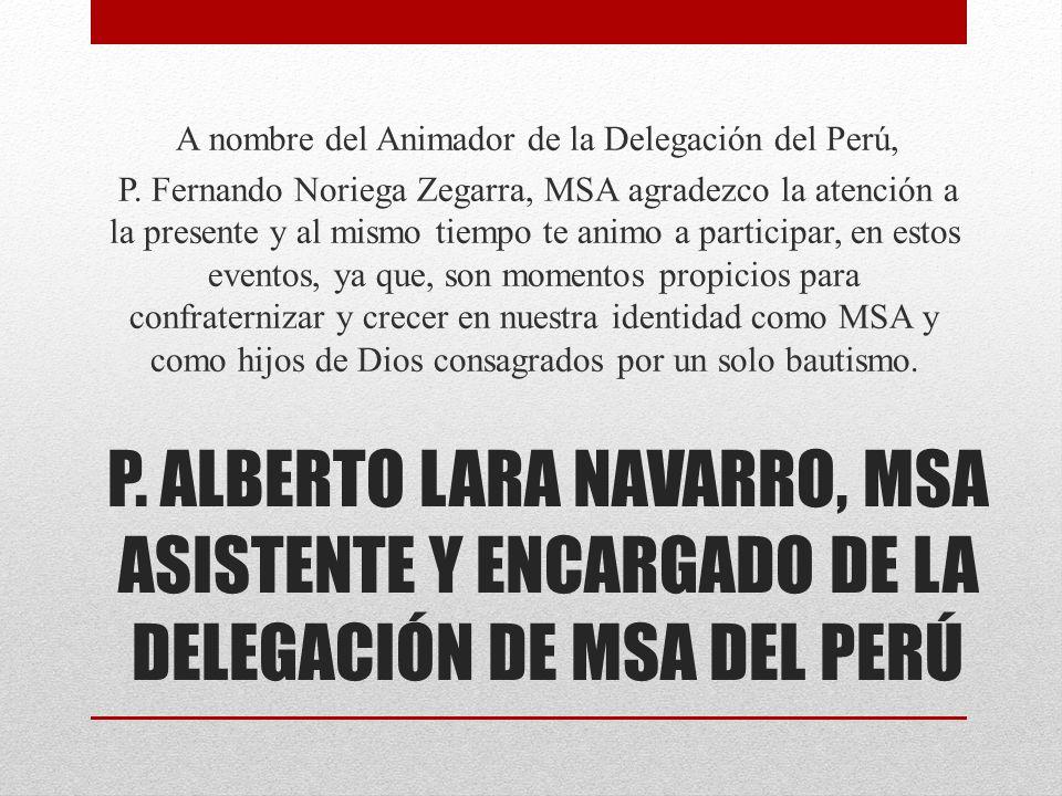 A nombre del Animador de la Delegación del Perú, P