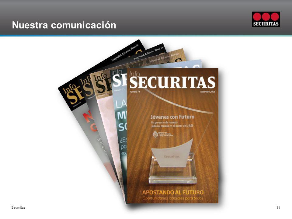 Nuestra comunicación Securitas